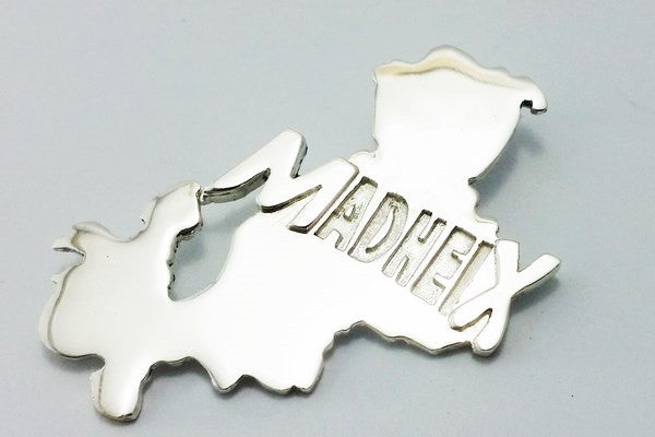 pendentif mayotte argent massif