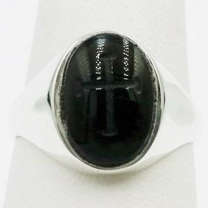 bague intaille onyx
