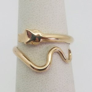 bague serpent en or 18k