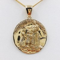 medaille religieuse or 18 carats