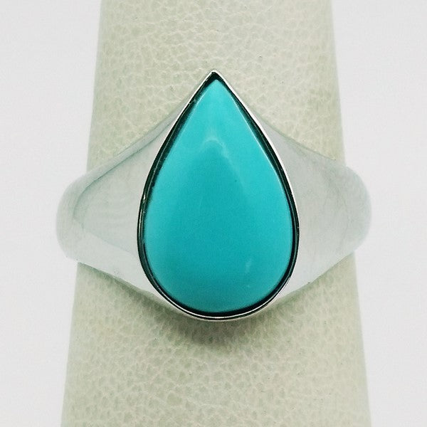 bague homme turquoise iran