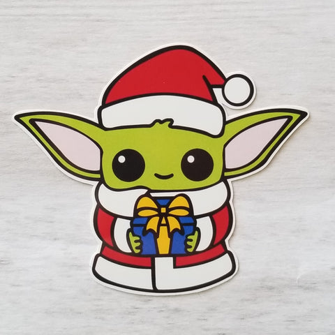 Santa Child sticker