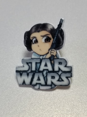 Princess Leia Pin