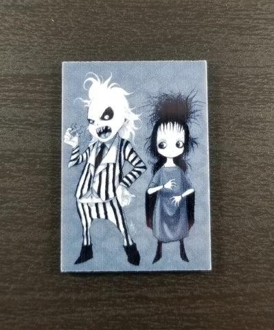 Beetlejuice Pin or Magnet