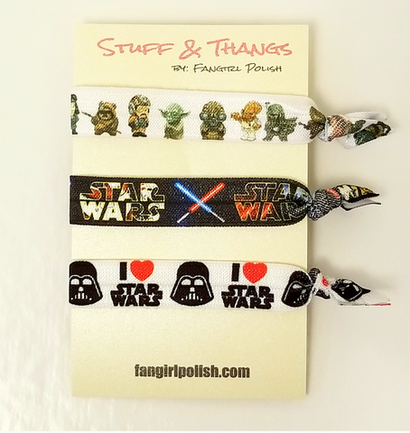 Star Wars Hair Elastics