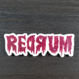 Redrum Pin or Magnet