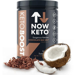 Now Keto+ Boost MCT Oil - Chocolat