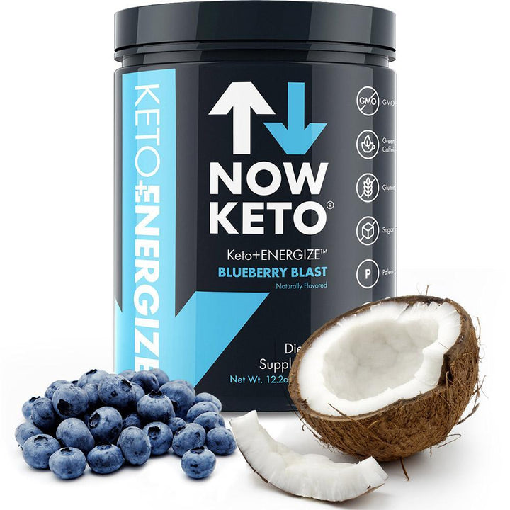 Now Keto+ Energize - Myrtille