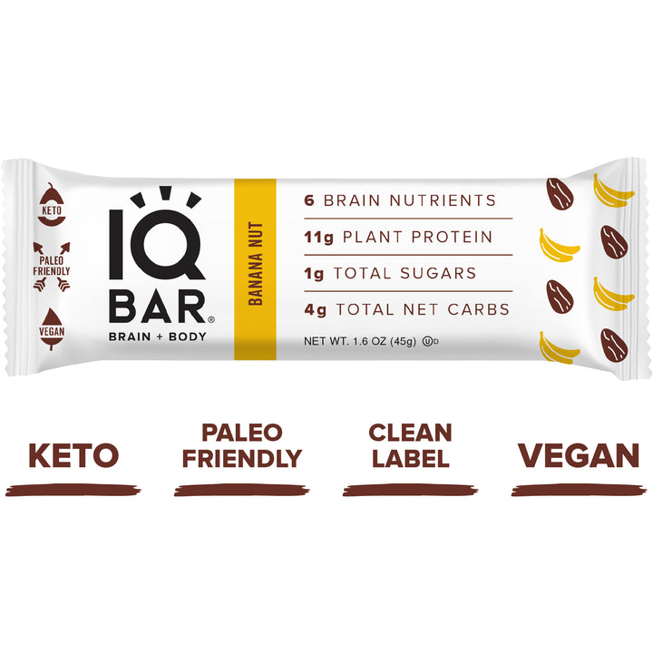 Banana and Nut Energy Bar
