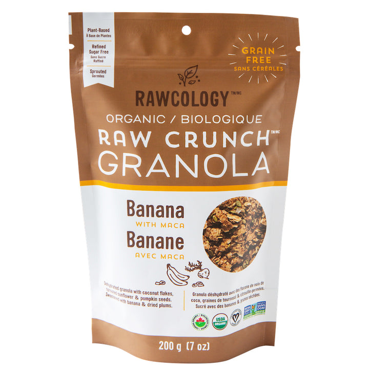 Granola Bio Banana and Maca