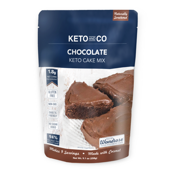 Mix Cake au Chocolat - Keto and Co