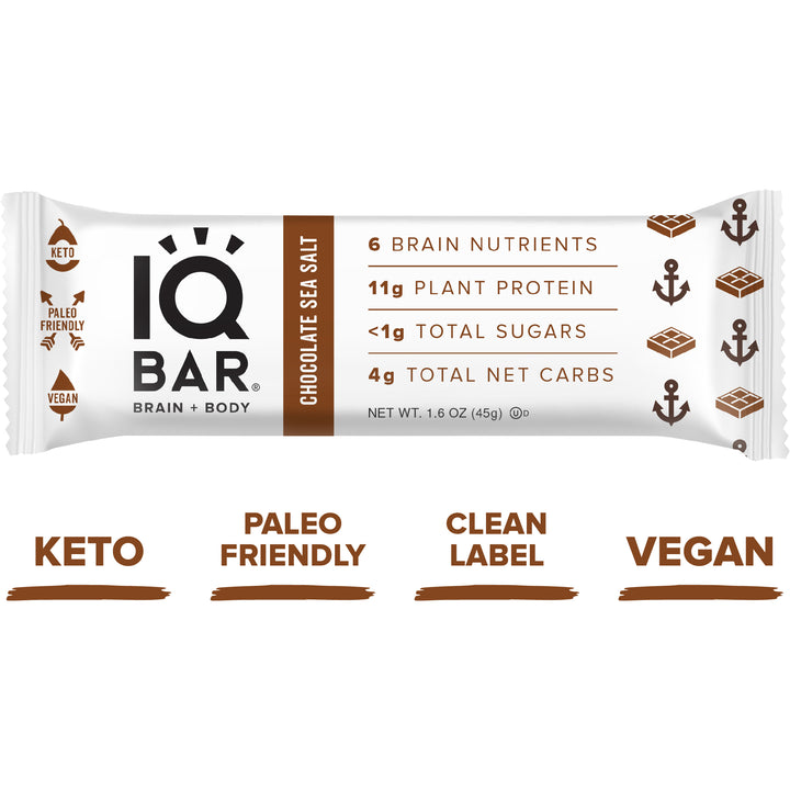 Energy Bar Chocolate and Sea Salt