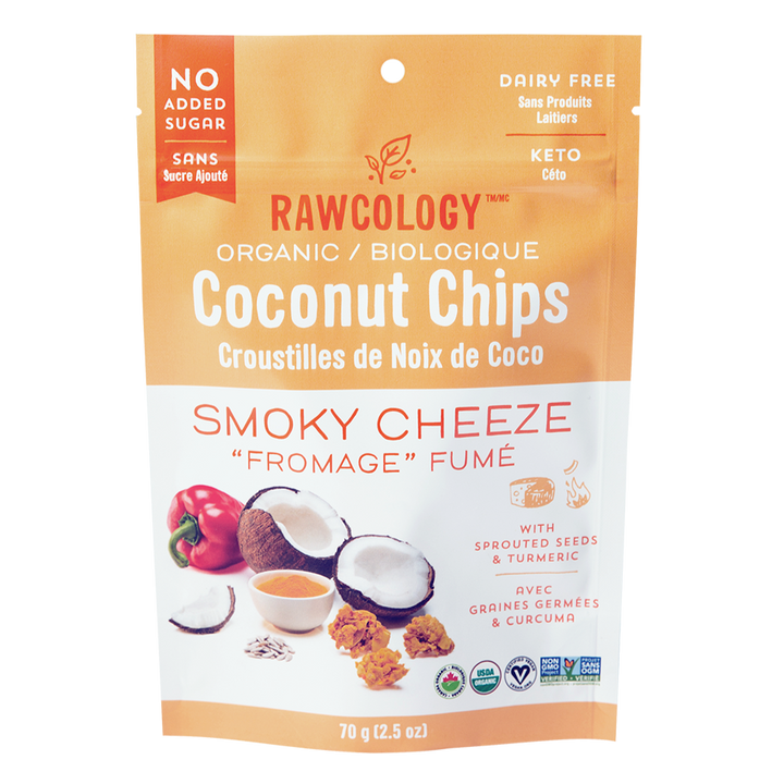 Chips coco smoky cheese rawcology