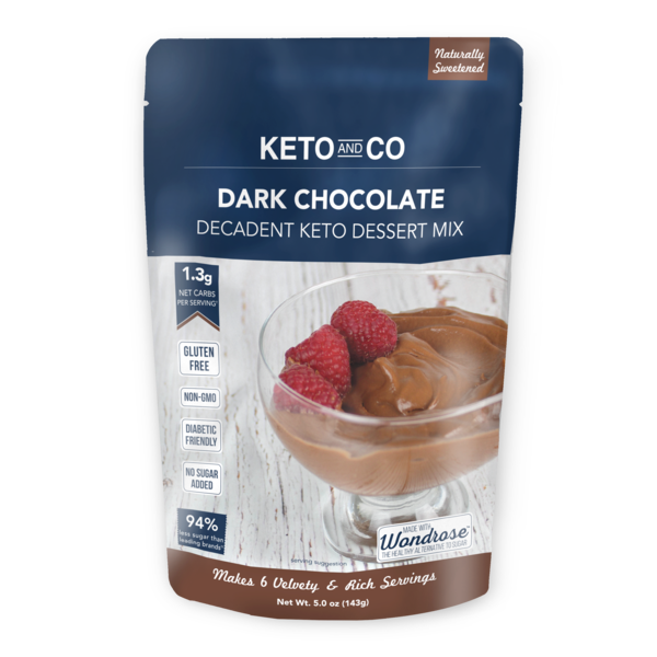 Mouse de chocolate keto-Keto and Co