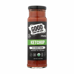 Good food for good ketchup sans sucre
