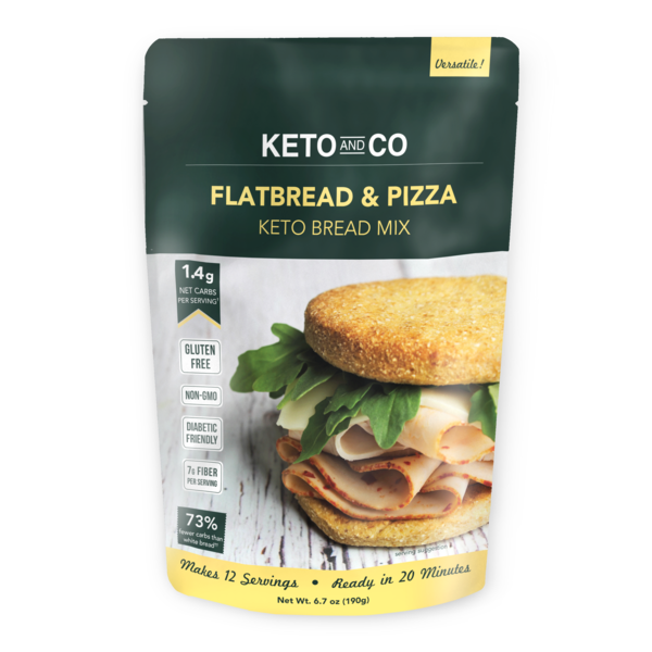 Mescolare il pane Cereale e Pizza - Keto e Co