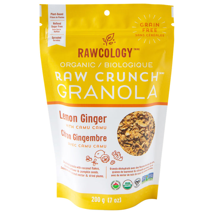 Rawcology | Granola Citron Gingembre