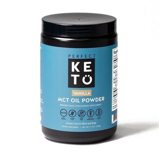 Perfect Keto MCT Oil Powder - Vanille