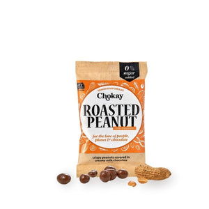 roasted peanuts chokay