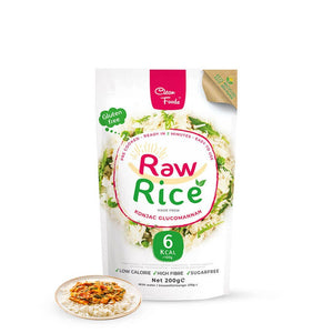 Raw Rice Clean Foods