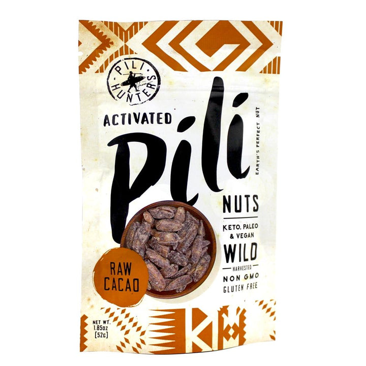 Raw cocoa Pili nuts - Pili Hunters