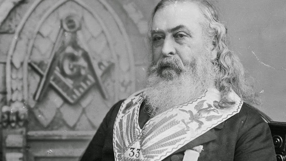 10 Facts about the controversial Freemason Albert Pike   FraternalTies