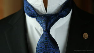 Anatomy of a York Rite Royal Arch Masonry Necktie Design