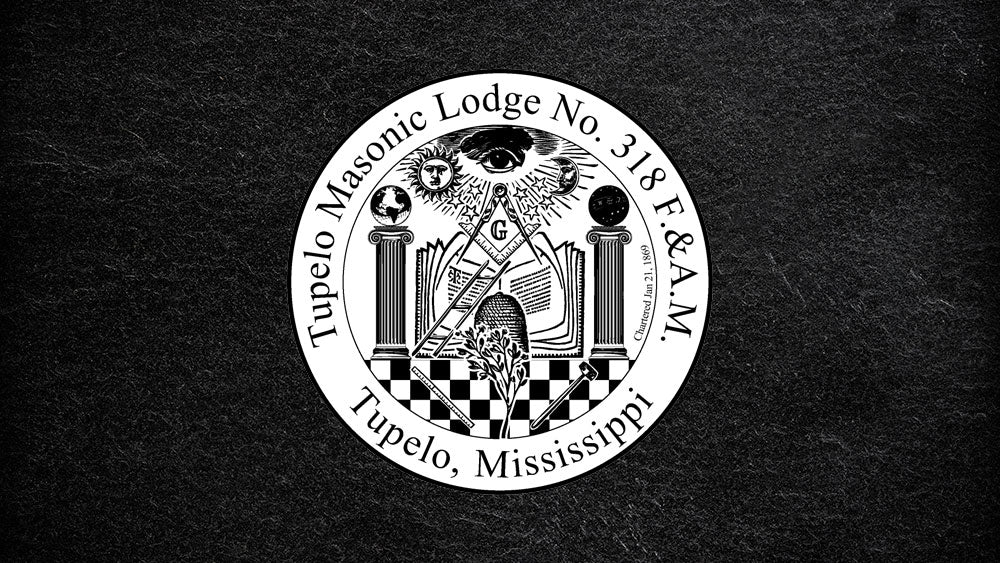 Tupelo Masonic Lodge No. 318 F&AM Mississippi USA