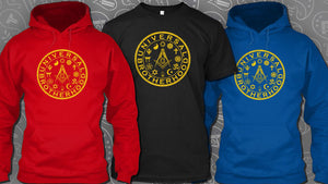 Freemasons Hoodies and T-shirts: The Universal Brotherhood Version 2