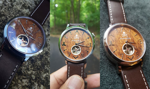 FraternalTies Acacia Wooden Watch