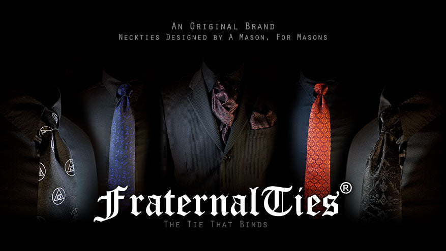 The 2012 FraternalTies Masonic Necktie Collection