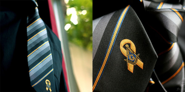 Support Our Troops Freemasons Necktie