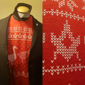 Goose and Gridiron Freemasons Christmas Sweater