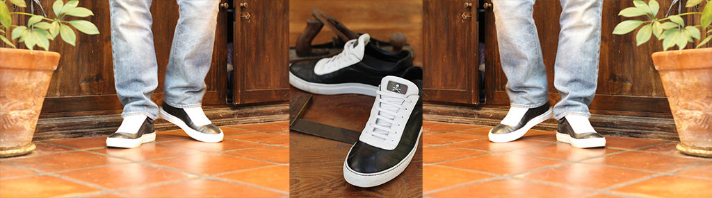 FraternalTies Leather Sneakers Freemason Joel Sayre