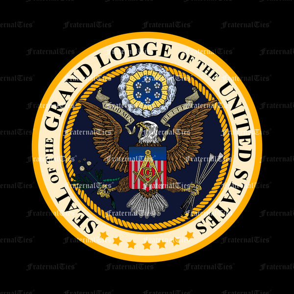 FraternalTies Freemasons Seal of the Grand Lodge of the United States (Satire)