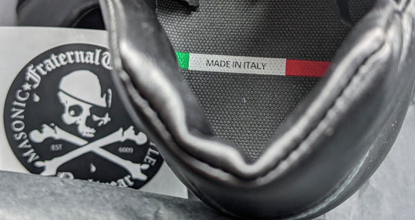 FraternalTies Italian Leather Sneakers made in Italy