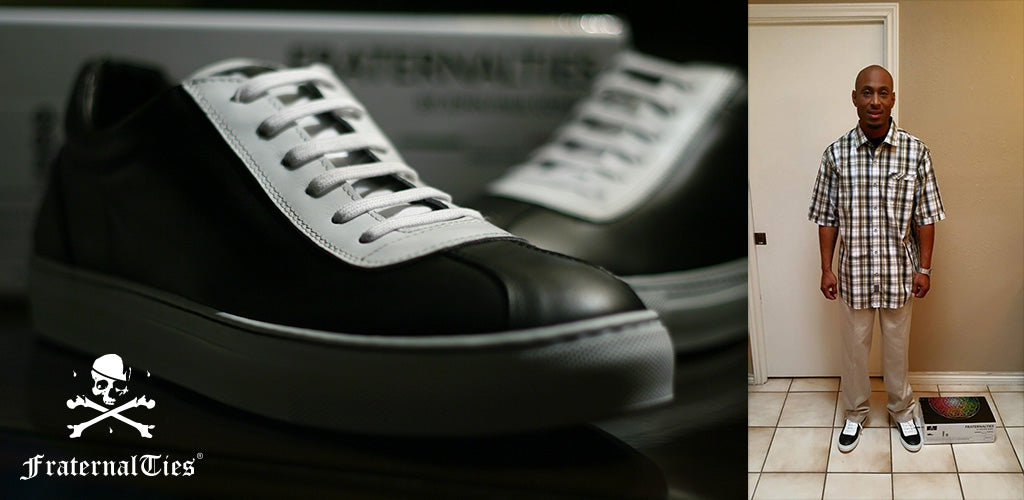 FraternalTies Freemason Leather Sneakers Jay Hollowell