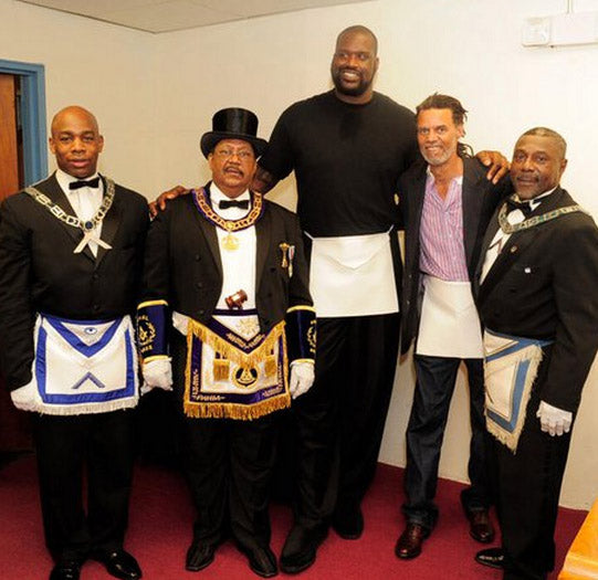 Shaquille O'Neal Is A Freemason??