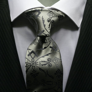 The Platinum Corinthian Necktie