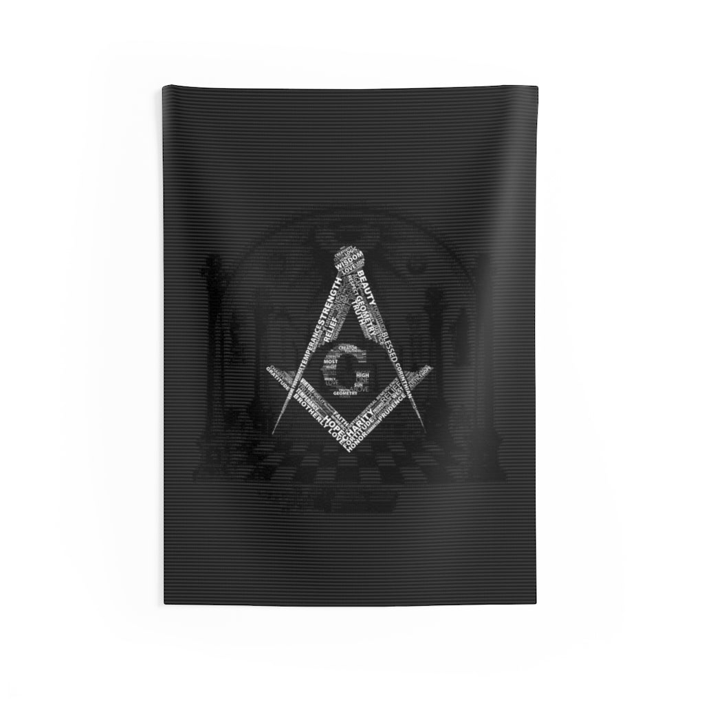 Order from Chaos Wall Tapestry