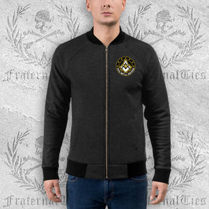 Army Freemason Bomber Jacket