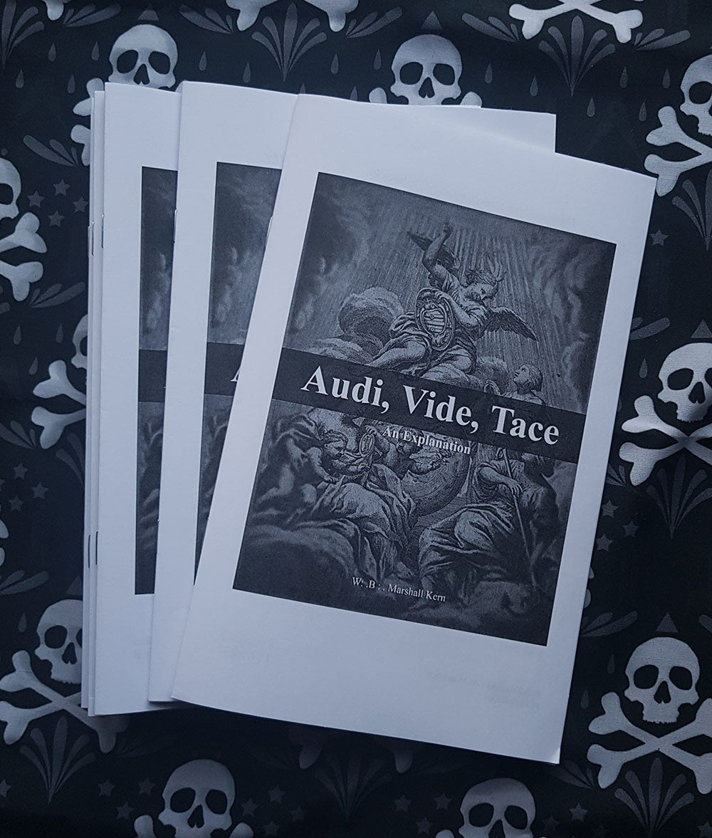 Audi, Vide, Tace: An Explanation (5 copies)