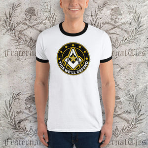 Army Freemason Ringer T-Shirt