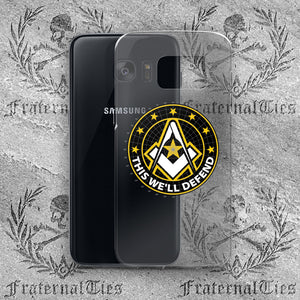 Army Freemason Samsung Case