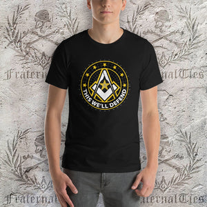 Army Freemason Short-Sleeve T-Shirt