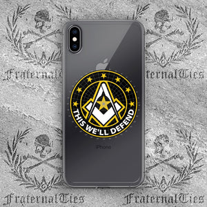 Army Freemason iPhone Case