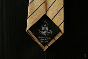 International Order of DeMolay | Dad Whitaker Tie