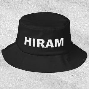 Hiram Old School Masonic Bucket Hat