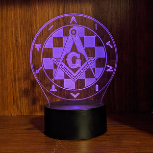 Masonic Working Tools LED Lamp