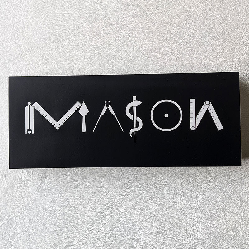 MASON Bumper Sticker